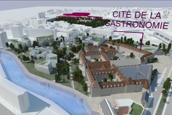 La Cité internationale de la Gastronomie et du vin de Dijon devrait ouvrir à la fin de l'année 2021.
