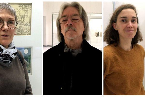 Au musée Tomi Ungerer à Strasbourg, des visiteurs racontent ce que représente l'artiste pour eux