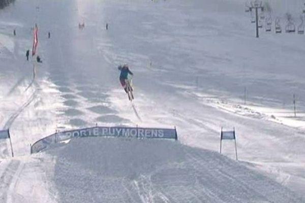 Malgrè son jeune âge, Perrine Laffont, a réussi à se qualifier pour la finale olympique.