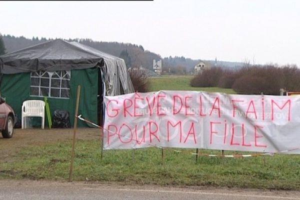 Grève de la faim de Julie Zali
