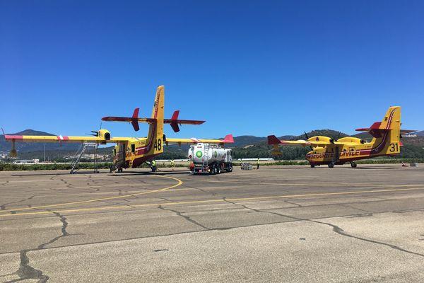 Ce lundi 5 juillet, deux Canadair sont intervenus à Lumio.