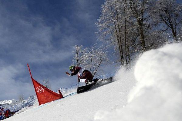 Le snowboardeur Sylvain Dufour