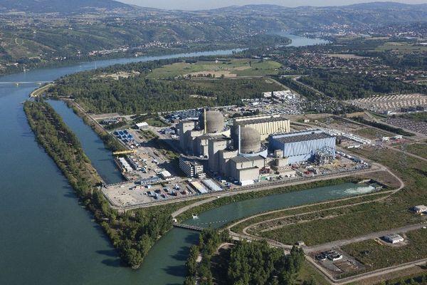Centrale nucléaire de Saint-Alban en Isère
