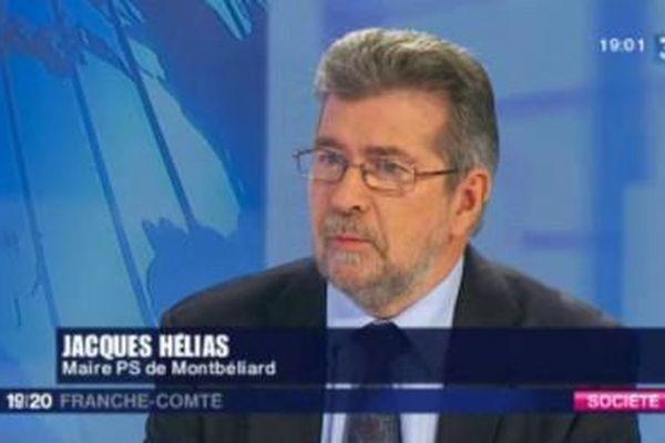 Jacques Hélias va cumuler les fonctions de maire de Montbéliard et de président de la communauté d'agglomération.
