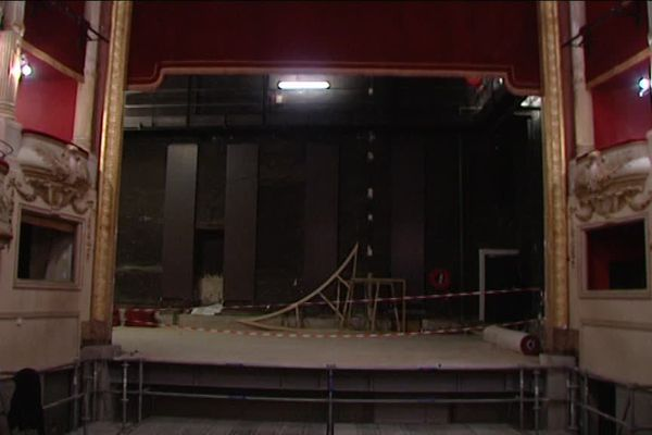 Le théâtre municipal de Nevers a fermé ses portes en 2010, pour cause de vétusté
