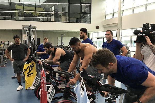 Après 10 jours de congés, l'entrainement reprend pour les joueurs de l'ASM Clermont Auvergne, avec dans le viseur le Top 14 et la Champions Cup.