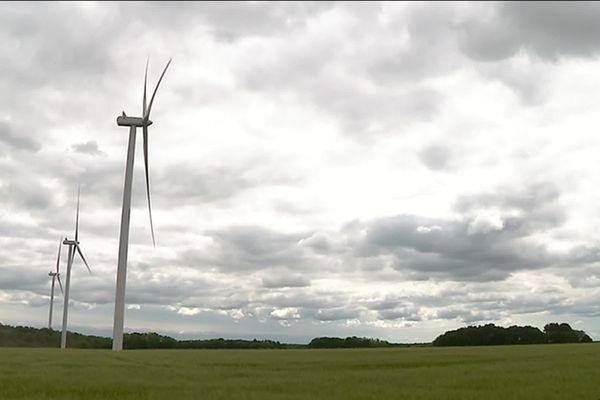 """Le parc éolien """"Les Sources du Mistral"""""""