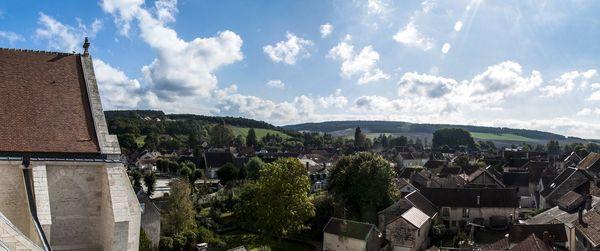 Mussy-sur-Seine - vue depuis la collégiale