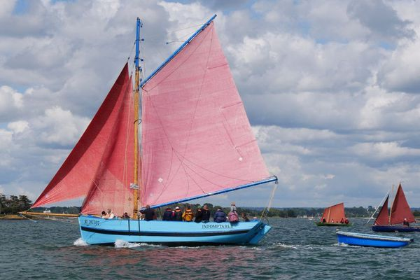 L'Indomptable, un sloop coquillier de 1947, restauré durant trois ans par Fred Barbary