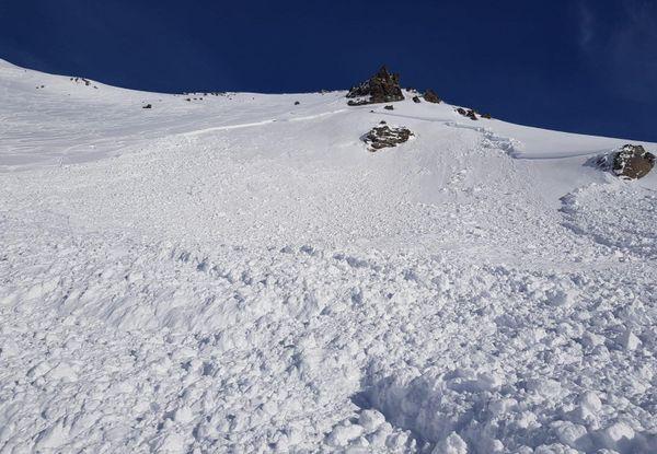 L'avalanche s'est déclenchée sur un secteur hors piste d'Orelle, en Vanoise.
