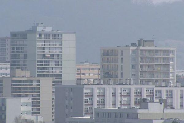 Le quartier de Planoise à Besançon