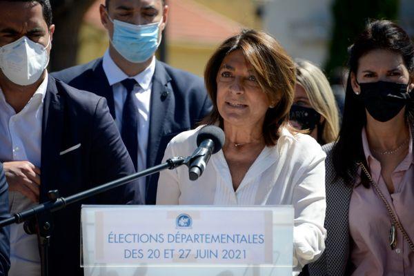 La présidente sortante des Bouches-du-Rhône Martine Vassal (LR), a été largement reconduite à la tête du département, qu'elle dirigera en plus de la Métropole d'Aix-Marseille
