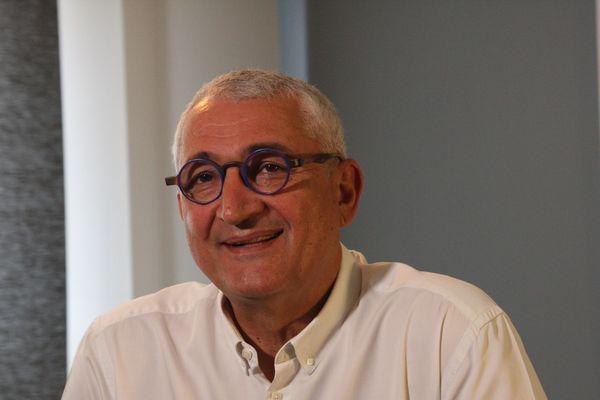 Gérard Chemla est candidat à la mairie de Reims sous l'étiquette LREM