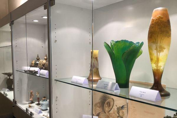 L'une des exposition proposées présente des objets insolites. A découvrir uniquement ce vendredi après-midi!