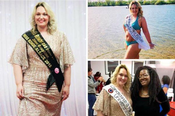 Miss ronde Bas-Rhin a été élue Miss ronde univers 2019