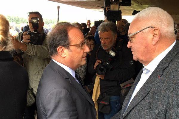 François Hollande à Sarran