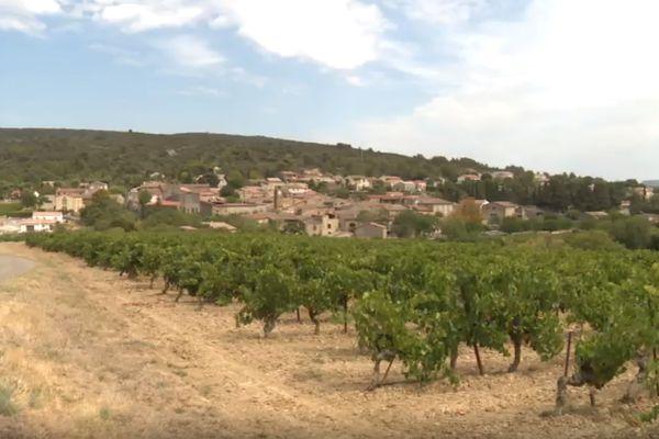 Le village de Monze, dans l'Aude