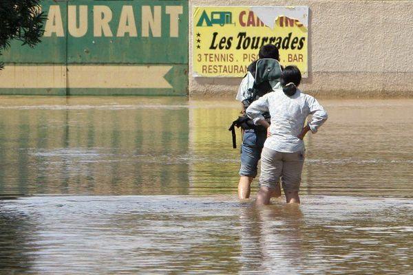 Inondations dans le Gard