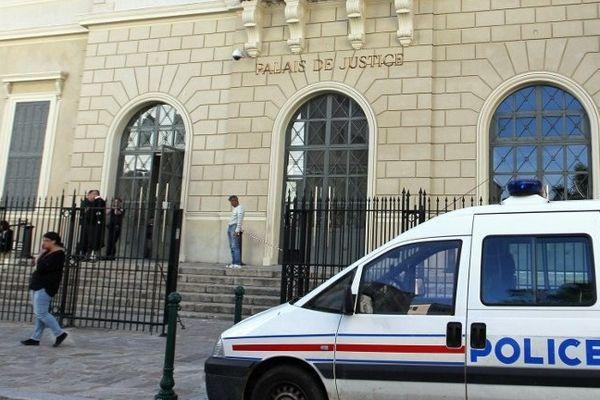 ILLUSTRATION - Le palais de justice d'Ajaccio (Corse-du-Sud)