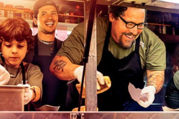 """Emjay Anthony, John Leguizamo, Jon Favreau dans """"Chef"""", présenté à Deauville ce dimanche"""