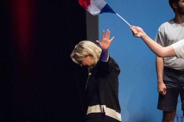 Marine Le Pen à Fréjus le 15 septembre dernier