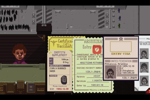 Un jeu qui consiste à vérifier des passeports et des papiers d'identité : voici Papers, Please