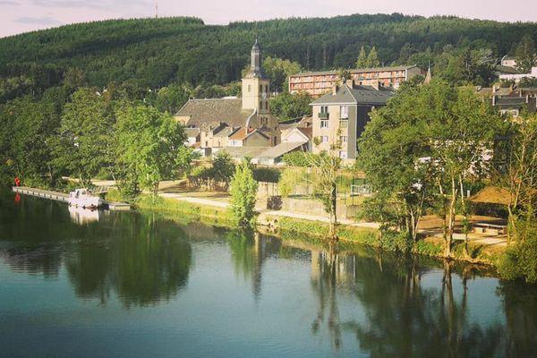 Nouzonville, commune des Ardennes retenue pour l'aventure des JO de Paris 2024
