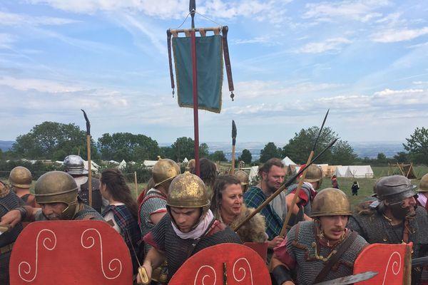 Gaulois et Romains se sont affrontés sur le plateau de Gergovie en 52 av. J.C.