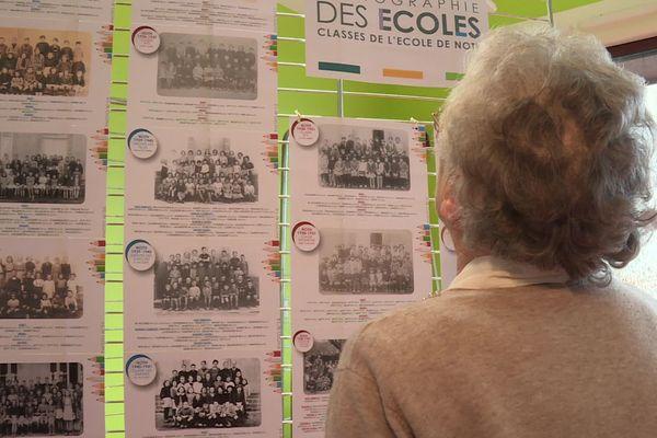 150 photos de classes ont été rassemblées pour cette exposition à Noth.