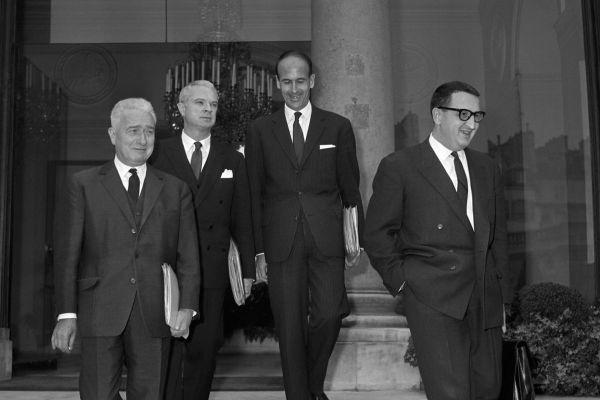 En 1964, Valéry Giscard d'Estaing est ministre des Finances.