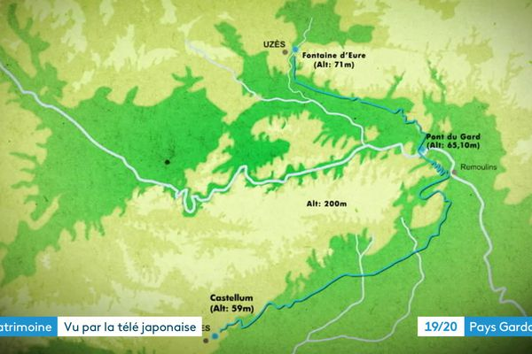 Le documentaire suit le tracé de l'aqueduc