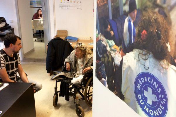 La commune de Quillan accueille régulièrement les bénévoles de Médecins du monde.