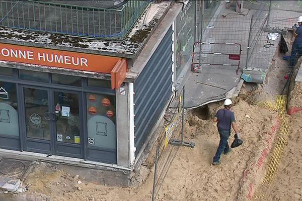 Trou d'Amiens, les commerçants ne sont toujours pas indemnisés