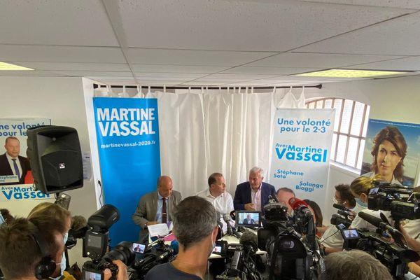 Pour défendre Martine Vassal, ses colistiers ont dénoncé d'éventuelles manœuvres frauduleuses chez leurs concurrents.