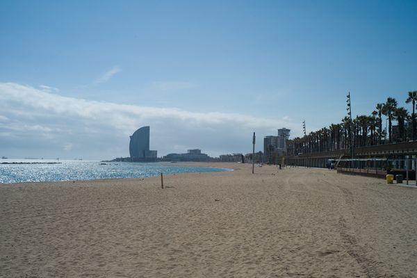 A Barcelone, les plages sont de nouveau accessibles de 6h à 10h pour faire su sport - 8/05/2020
