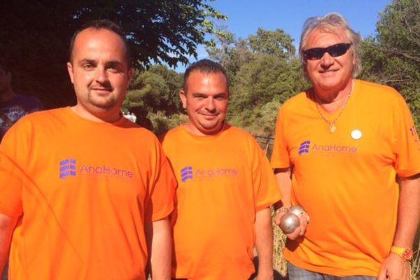 La team Foyot , heureux vainqueurs de la 3ème partie de la journée 13 à 1