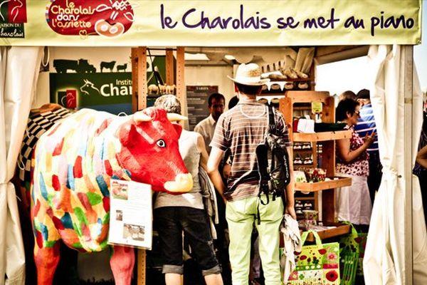 """""""Les halles en folie"""" lors de l'édition des Francos Gourmandes 2012"""