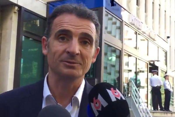 Eric Piolle réagit aux annonces de Gérard Collomb.