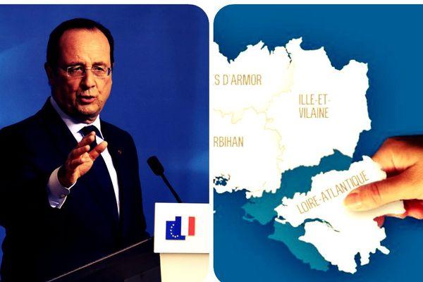 La fusion plutôt que le démantèlement selon la Tribune : la Bretagne historique ne profiterait pas de la réforme territoriale en cours.