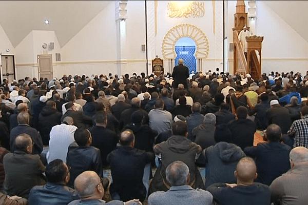 Grande mosquée de Lyon, le 20/11/2015