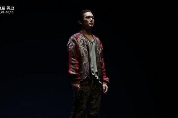 La pièce Roberto Zucco mise en scène à Séoul par Jean-Lambert Wild, directeur du théâtre de L'Union de Limoges
