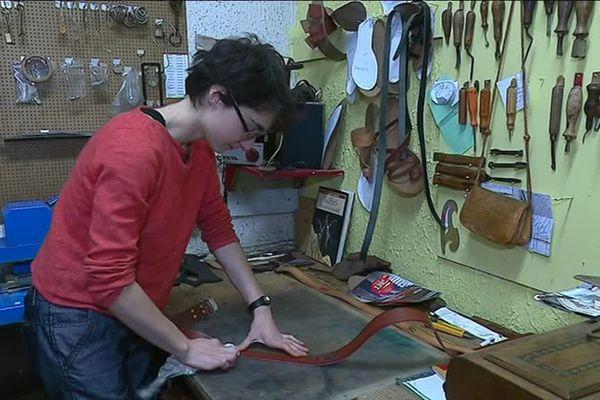 Lisa Georgel a repris la boutique de coordonnerie de Lons-le-Saunier après ses études.