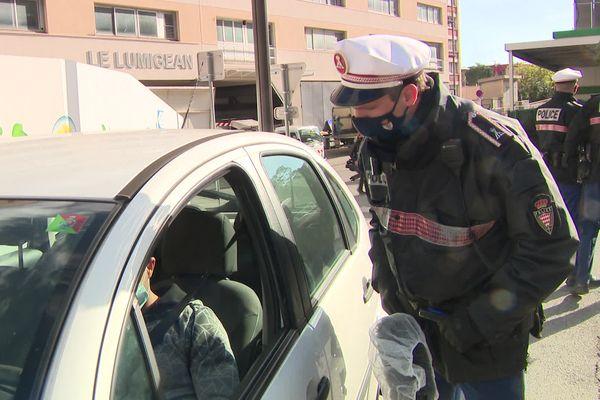 Ce lundi 15 février, 169 véhicules ont été prié de faire demi-tour à l'entrée de la Principauté de Monaco.