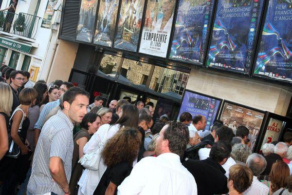 Le festival du film francophone d'Angoulême attire chaque année des milliers de spectateurs (Archives 27 août 2018).