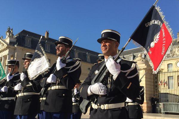 La cérémonie s'est déroulée Place de la Libération vendredi 13 octobre dans l'après-midi