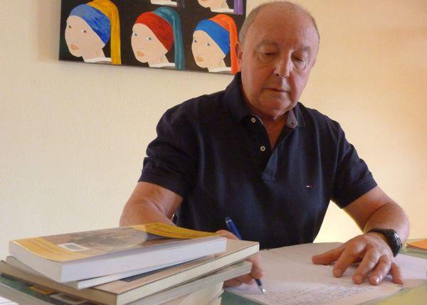 Bernard Bourrié, auteur de 3 ouvrages historiques en Languedoc-Roussillon est également spécialiste en immunologie.