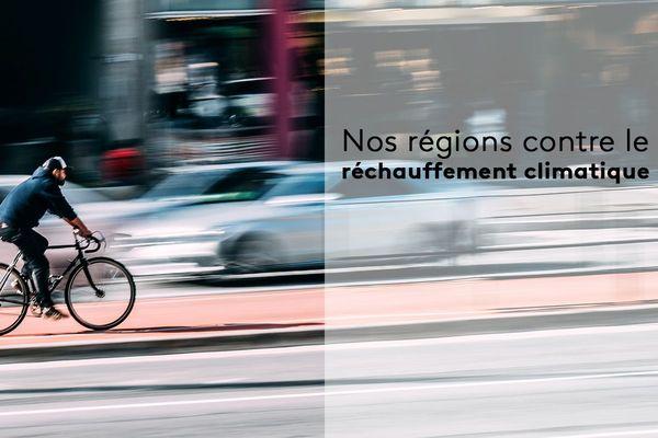 La pollution due aux émanations des voitures contribuent au dérèglement climatique.