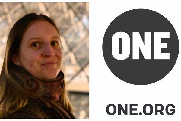 Angélique, 21 ans, est originaire de Tours. Elle fait partie des 50 jeunes ambassadeurs de ONE.