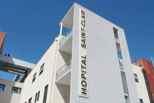 Hôpital Saint-Clair, Sète