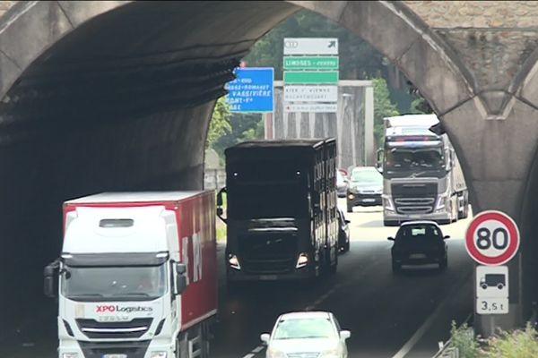 5000 poids-lourds par jour empruntent déjà l'A20 dans sa traversée du Limousin.